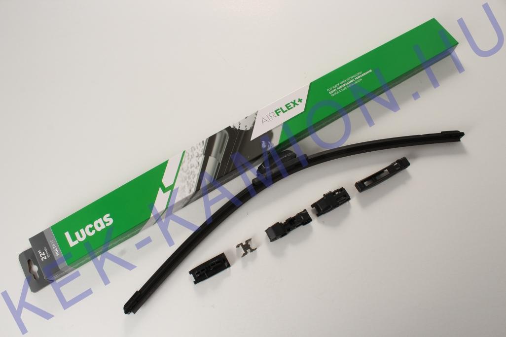 Ablaktörlő lapát flexibilis 550mm LUCAS 22col