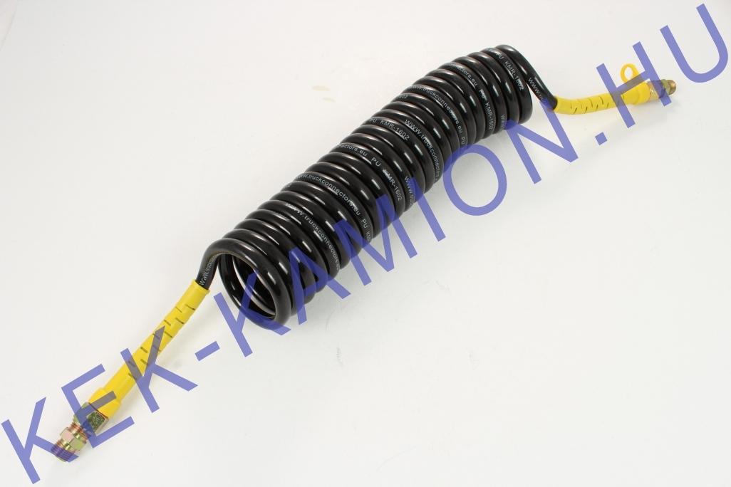 Luftschlauch Spirale gelb M16