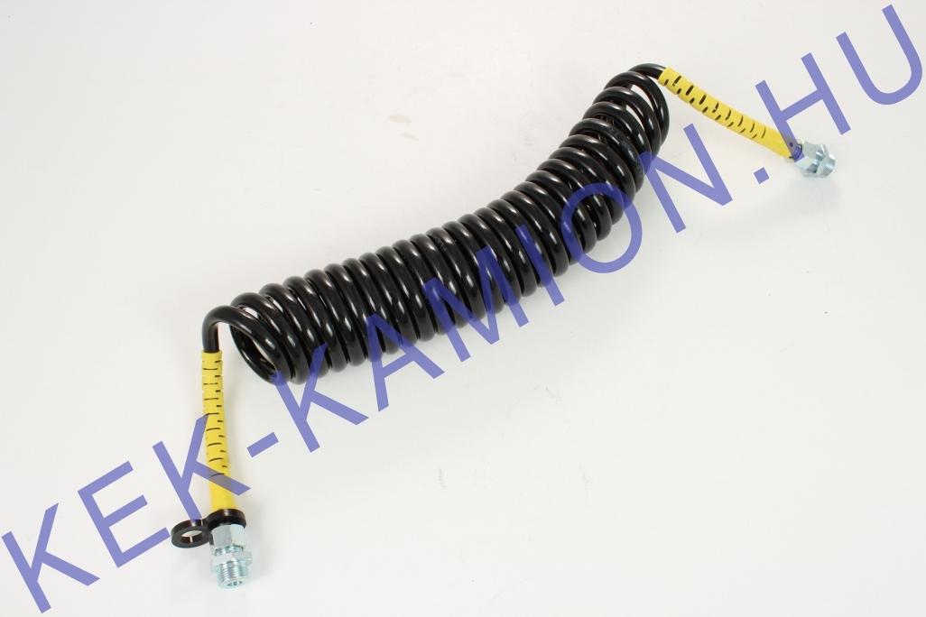 Luftschlauch Spirale gelb M22